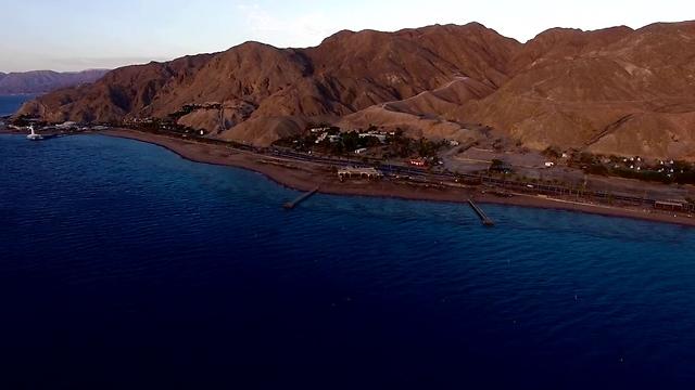 קו החוף של עיר הנופש הדרומית (צילום: צילום: עומר דרור וניצן דרור)