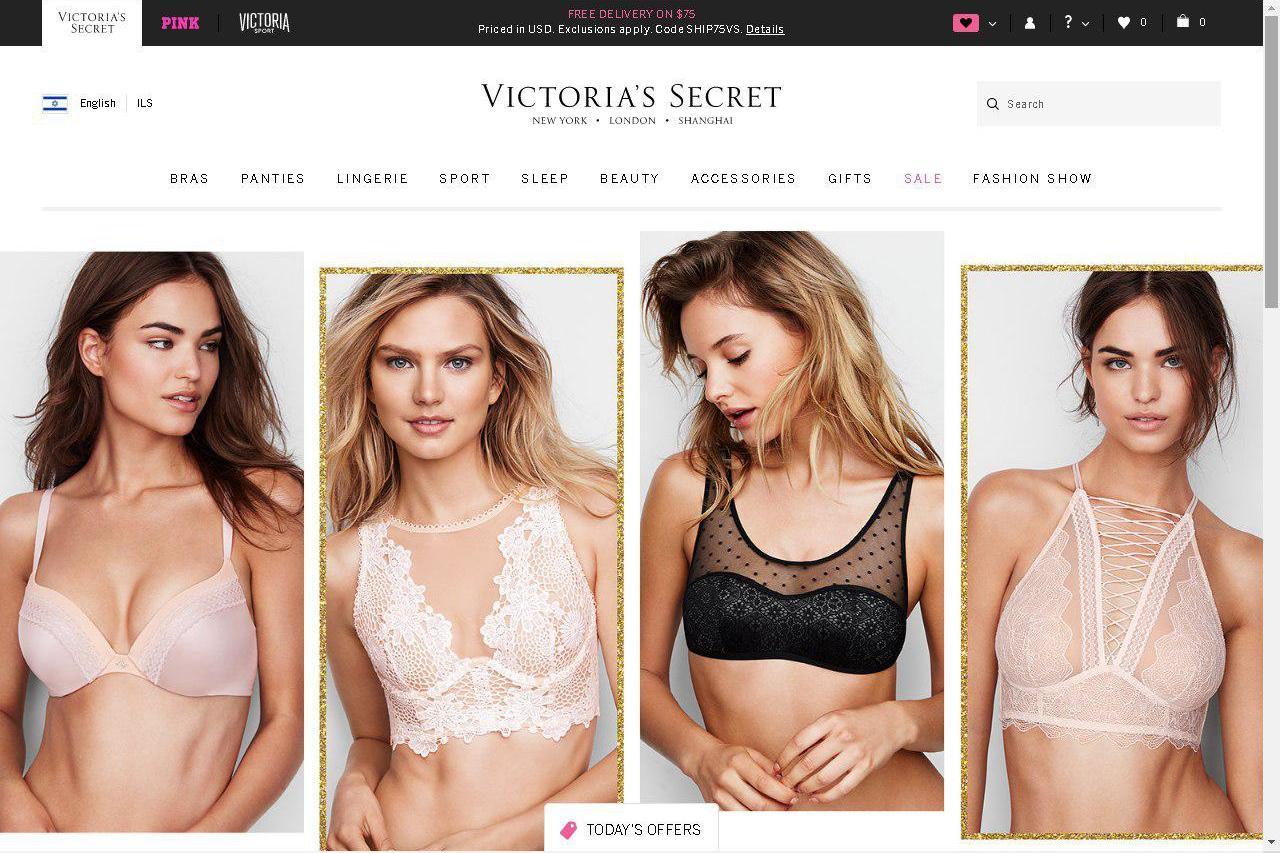 Продукция Victoria's Secret