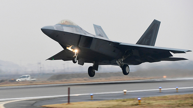 US, South Korea's joint aerial drill  (Photo: AP)