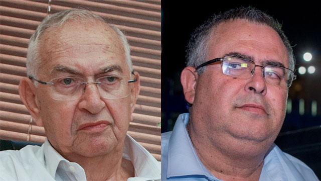 Nitzan (L) and Bitan (Photo: Yuval Hen, Shaul Golan)