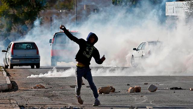 העימותים השבוע בקוסרא (צילום: AFP)