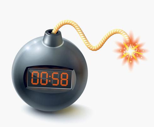 בלי רגשי. איך לנטרל את הפצצה (צילום: Shutterstock)