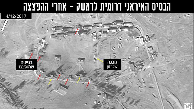 תמונות הלוויין שפורסמו אחרי התקיפה בנובמבר אשתקד (צילום: ImageSat International (ISI)) (צילום: ImageSat International (ISI))