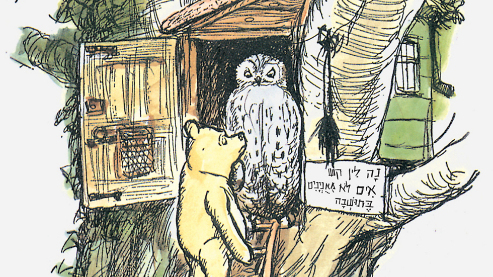 """""""אני חושב - למרות שאיני בטוח - שמהסיבה הזו קוראים לו פו"""". מתוך הספר (איור: א""""ה שפארד) (איור: א"""