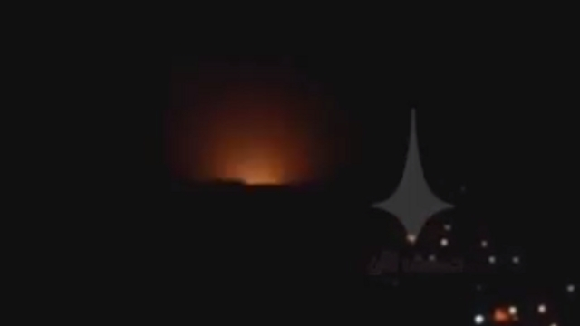 Alleged Israeli attack in Syria, Monday night