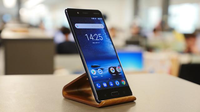 Nokia 8 (צילום: גיא לוי) (צילום: גיא לוי)