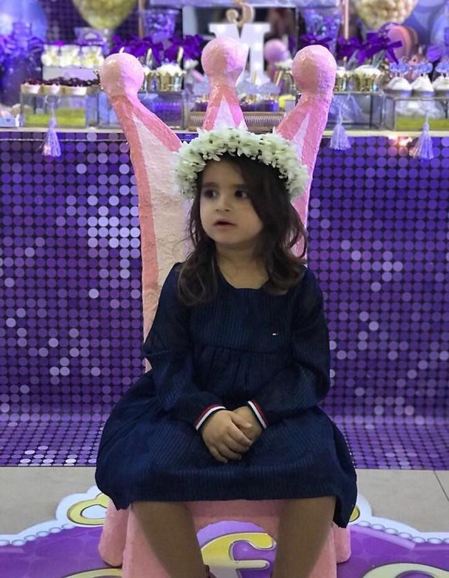 נסיכה אמיתית. מיכאלה פרץ חוגגת יום הולדת 3