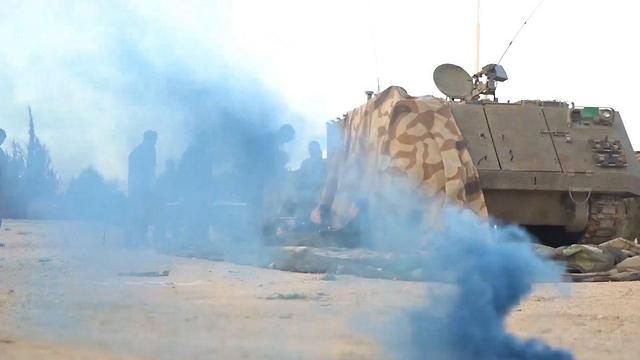 IDF drill near Karmiel (Photo: IDF spokesman)