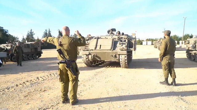 An IDF military exercise in the north (Photo: IDF spokesman)