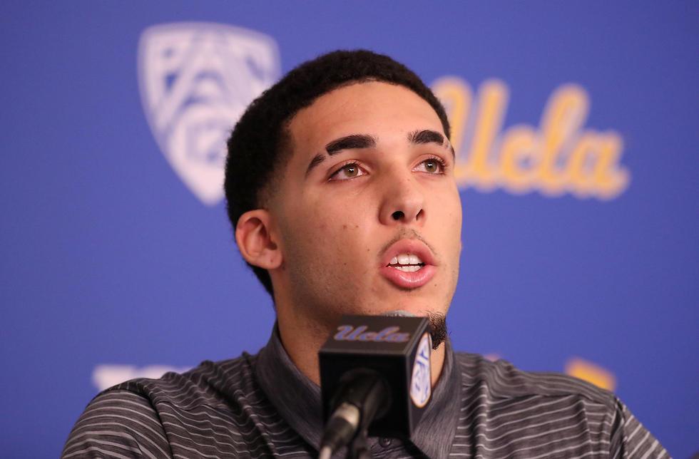 כבר לא ישחק העונה ב-UCLA. ליאנג'לו בול (צילום: MCT)