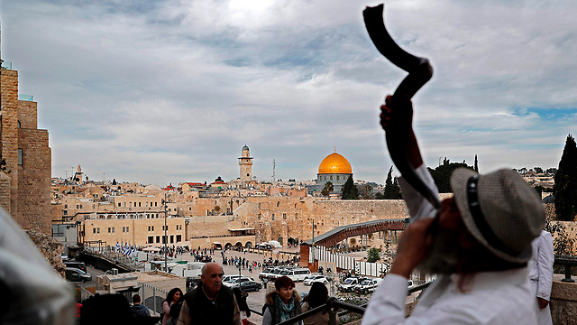 Since it's the Temple Mount's time, we will soon see the establishment of the Temple Mount state (Photo: AFP)