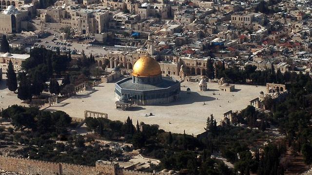 הר הבית (צילום: AFP)