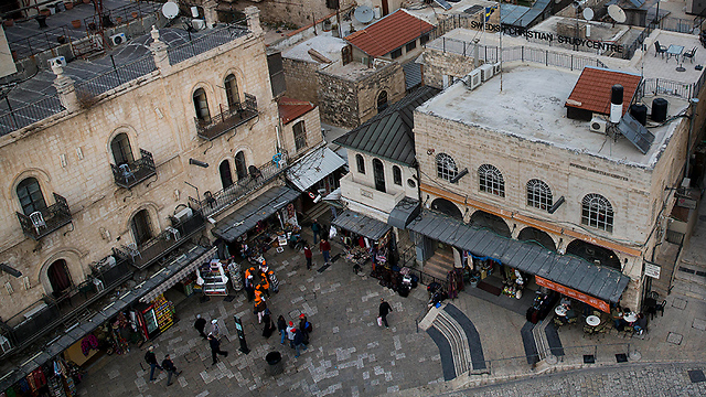 העיר העתיקה בירושלים (צילום: AP)