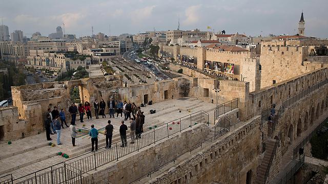 מגדל דוד (צילום: AP)