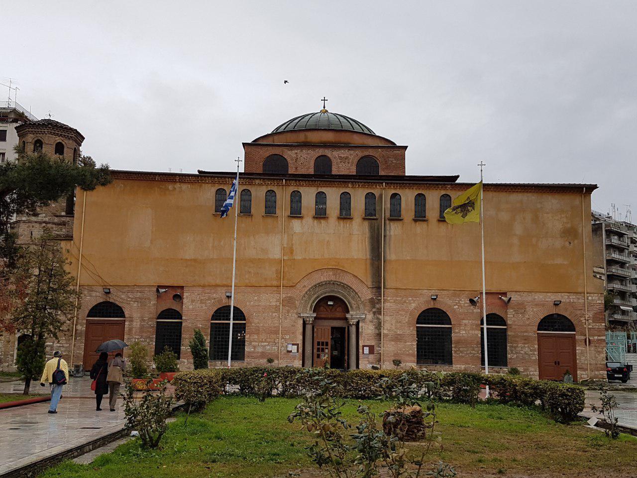 """כנסיית אגיה סופיה, האחות הקטנה של הכנסייה באיסטנבול (צילום: אחיה ראב""""ד)"""