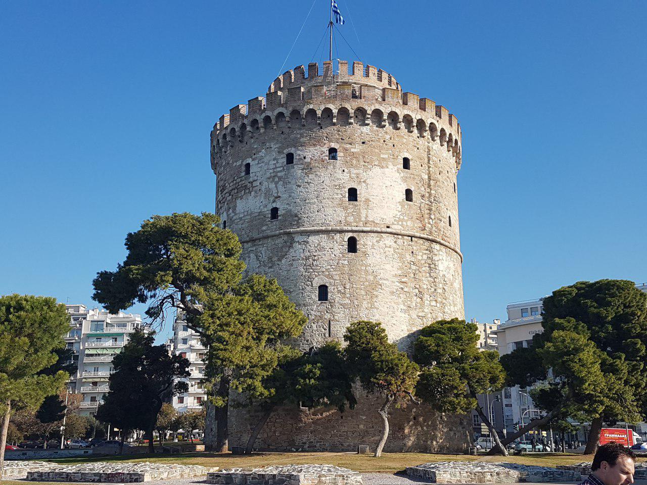 """סמל העיר: המגדל הלבן (צילום: אחיה ראב""""ד)"""