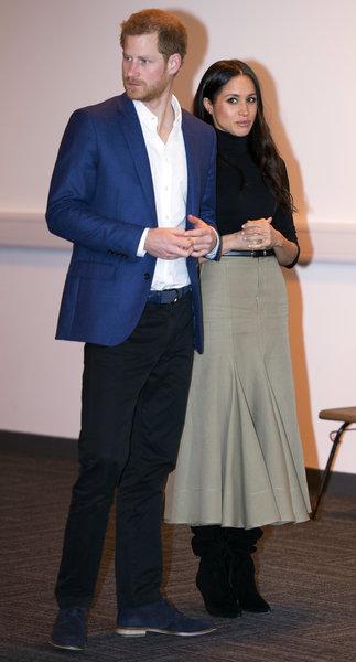 Гарри и Меган Маркл. Фото: AP