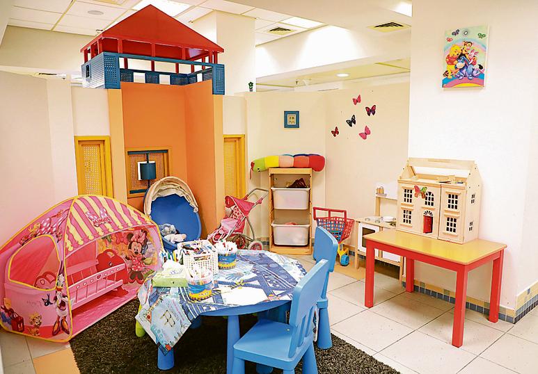 אחד ממרכזי ההגנה לילד. מתקן נפלא המאפשר לילדים להגיש תלונה בתנאים הכי נוחים
