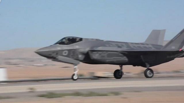 F-35. Фото: пресс-служба ЦАХАЛа (Photo: IDF Spokesperson's Unit)