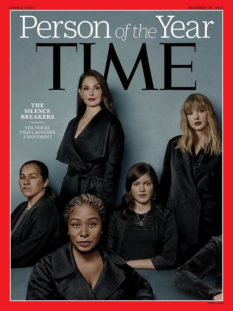 The women who launched the #MeToo Campaign on the cover of Time Magazine