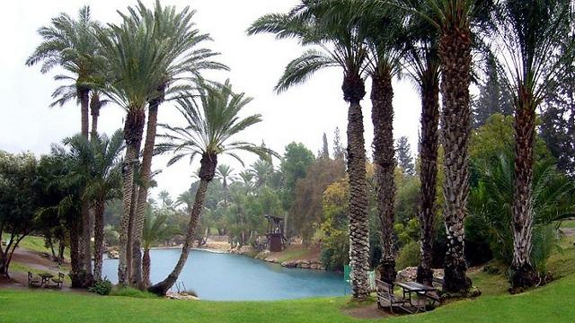 Парк Ган ха-Шлоша популярен у израильских туристов