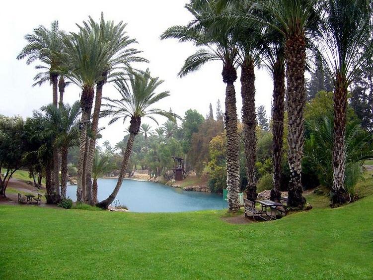 """גן השלושה (הסחנה): במקום ה-2 בהעדפות הישראלים (צילום: יח""""צ)"""