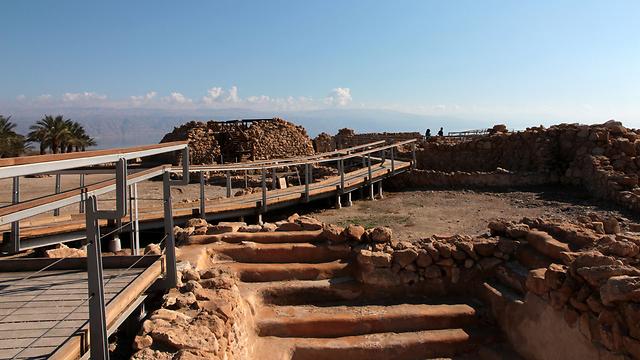 גן לאומי קומראן: במקום ה-3 בהעדפת התיירים בארץ (צילום: יעקב שקולניק)