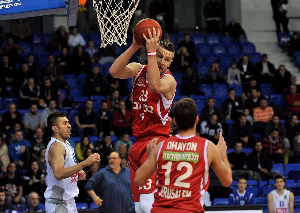 אלן אומיץ'. הפסד לאדומים במשחק מפתח (צילום: KK Budućnost)