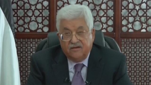 הנשיא הפלסטיני אבו מאזן, הערב