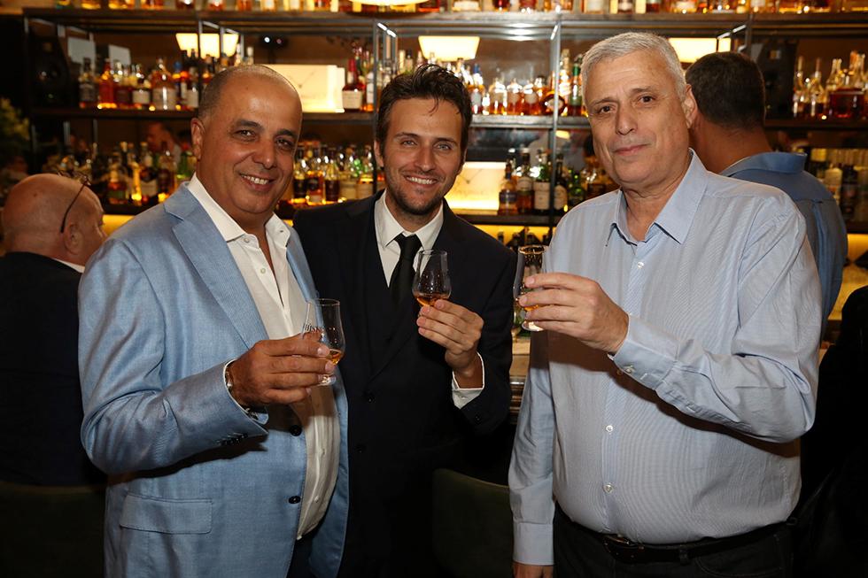 דודו פולטורק, יונתן וינר ועמוס לוזון (צילום: ערן לם)