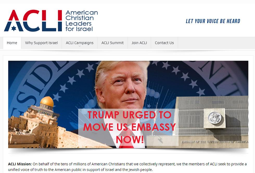 """""""אנחנו מודאגים מכל יום שחולף"""", כתבו אנשי ארגון American Christian Leaders for Israel  לטראמפ"""