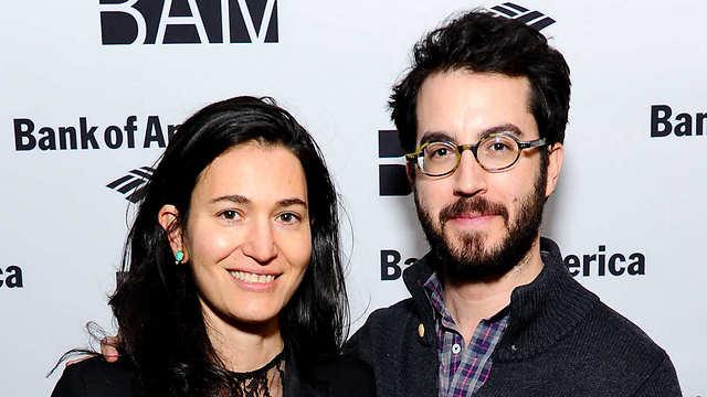 עם בעלה לשעבר, ג'ונתן ספרן פויר  (צילום: gettyimages) (צילום: gettyimages)