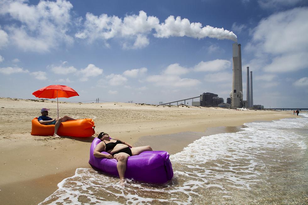 טבע וסביבה - תמונות בודדות, מקום ראשון: חוף חופשנית, קיסריה, 5 ביוני 2017 (צילום: אסף פרידמן, ידיעות תקשורת)