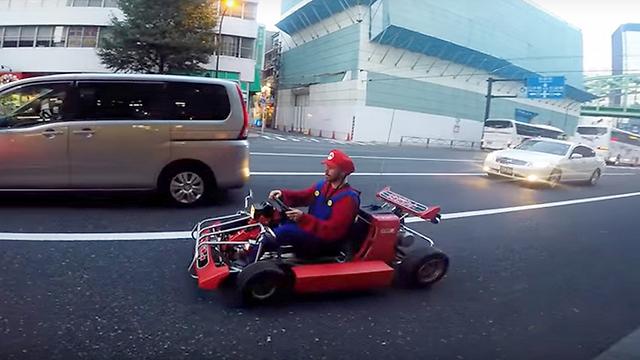 טיול סופר מריו בכבישי יפן