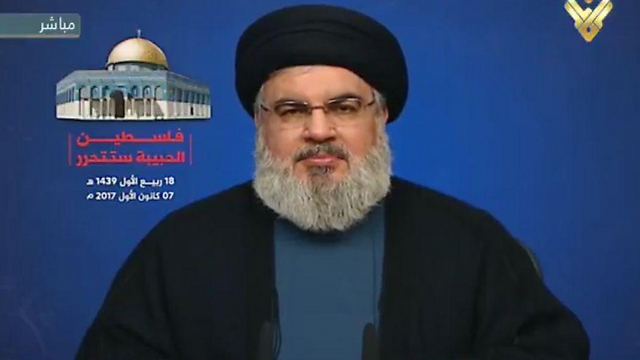 Hezbollah leader Nasrallah. 'He will become Lebanon's destroyer'