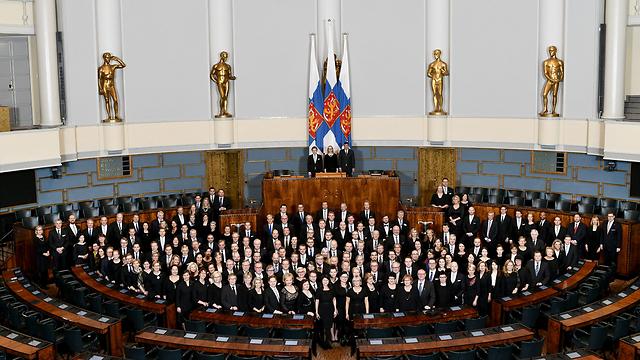 ישיבה מיוחדת של הפרלמנט הפיני לציון 100 שנות עצמאות (צילום: רויטרס)