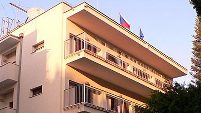 """שגרירות צ'כיה בתל אביב. """"מכירים בירושלים בגבולות 1967 כבירת ישראל"""""""