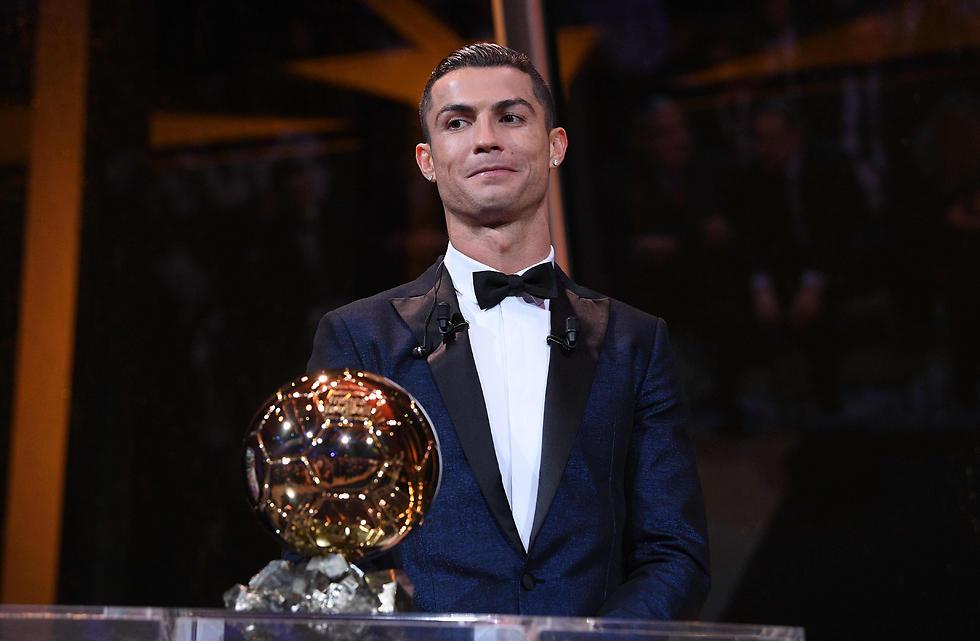 זכה ובצדק. רונאלדו והפרס היוקרתי (צילום: AFP) (צילום: AFP)