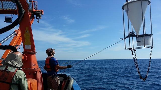 תחנת המחקר בים התיכון (צילום: באדיבות צוות המחקר) (צילום: באדיבות צוות המחקר)