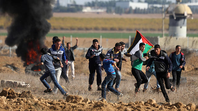 Protests in Gaza (Photo: Reuters)