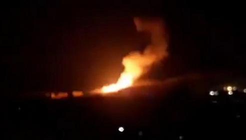 A Gázából jövő rakétára válaszul a hadsereg légicsapást mért a Hamász egyik megfigyelő állására