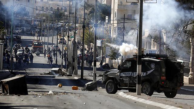 Clashes in Bethlehem (Photo: EPA)