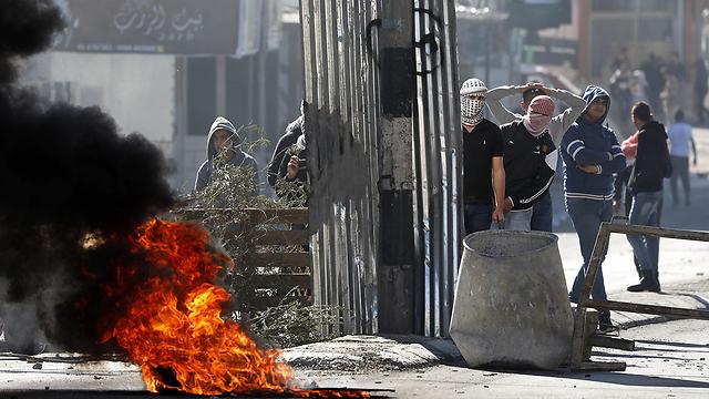 Riots in Bethlehem (Photo: EPA)