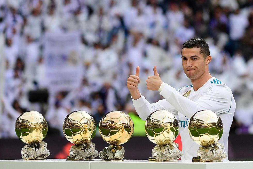 השנה של ריאל ושלו. רונאלדו (צילום: AFP)