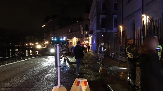 A Gothenburg synagogue firebombed Saturday