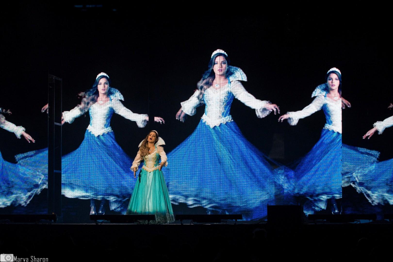 הנסיכה האמיתית (צילום: מרווה שרון) (צילום: מרווה שרון)