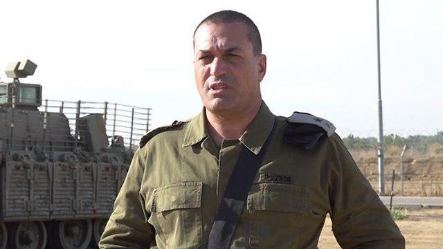 Eyal Zamir du Commandement du Sud du GOC (Photo: Unité du porte-parole de la FID)