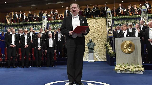 טקס הענקת פרסי נובל בשבדיה 2017 (צילום: AFP) (צילום: AFP)