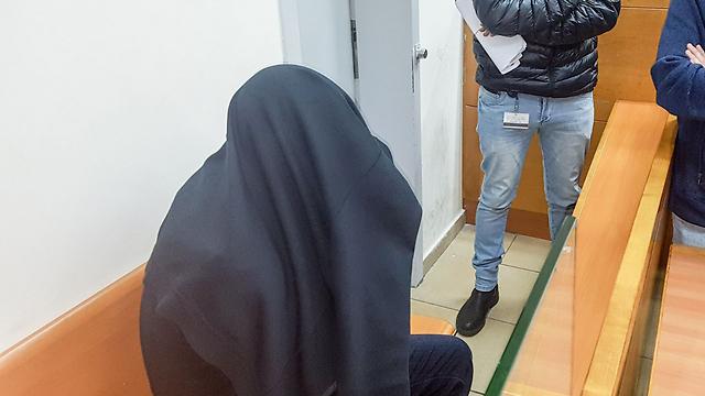 משה יוסף בהארכת מעצרו (צילום: יריב כץ) (צילום: יריב כץ)