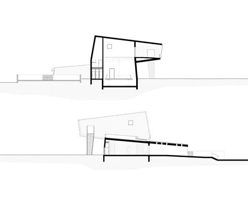 (חתך: מייזליץ כסיף אדריכלים)